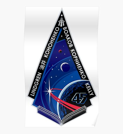 Expedition 45 Mission Patch Poster