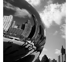 Bending Chicago Steel Photographic Print