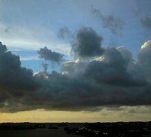 Hamilton Sunset Cloudscape  by John Gaffen