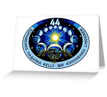 Expedtion 44 Mission Patch Greeting Card