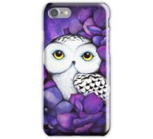 Snowy Owl iPhone Case/Skin