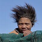 Back of the bakkie, in Africa by Karen01