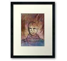 Abstract Stannis Baratheon  Framed Print
