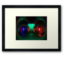 Multicoloured passages - Levity III  Framed Print