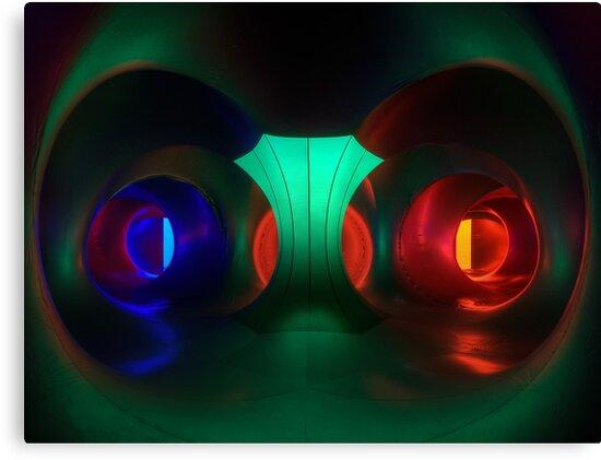 Multicoloured passages - Levity III  by Lamar Francois
