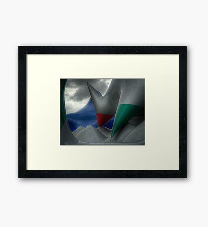 Levity III - external view Framed Print