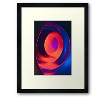 Shapes and Curves - Inside Levity III Framed Print
