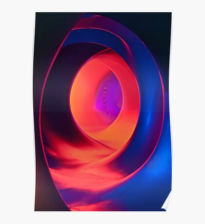 Shapes and Curves - Inside Levity III Poster