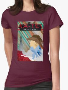 Your Ka-tet needs you! Womens Fitted T-Shirt