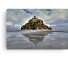 Mont Saint Michel Viewed by the Bay   Canvas Print