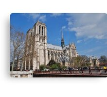 Notre Dame cathedral, Paris Canvas Print