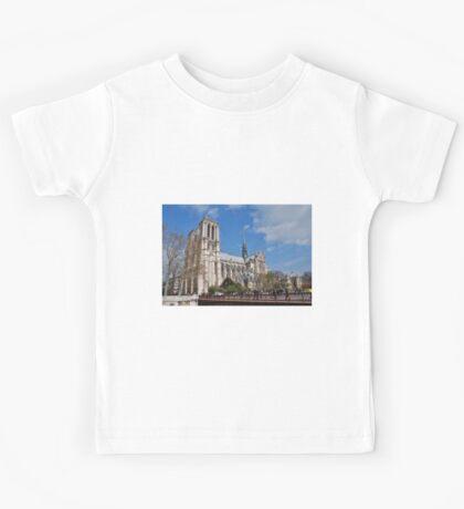 Notre Dame cathedral, Paris Kids Tee