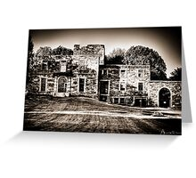 Historic Mansion Greeting Card