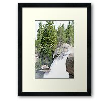 Rushing Down Framed Print