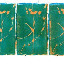 Three Flowers - Washington, DC - Found objects by Nadia Korths
