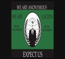 ANONYMOUS One Piece - Short Sleeve