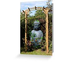 Garden Buddha - Belgium Greeting Card