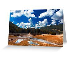 summer landscape Greeting Card