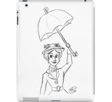 Mary Poppins Sketch iPad Case/Skin