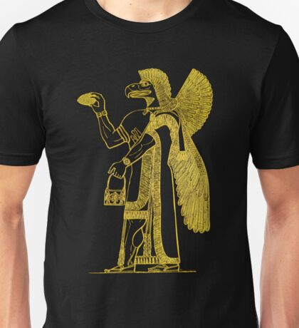 Anunnaki in Bronze Unisex T-Shirt