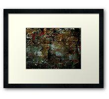 Beauty In The Cracks (1) Framed Print
