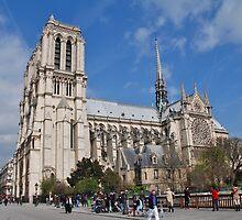 Notre Dame, Paris by David Fowler