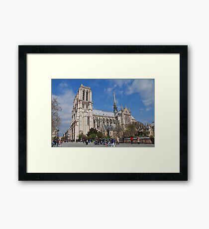 Notre Dame, Paris Framed Print