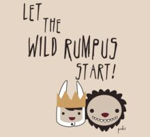 Let the WILD RUMPUS start! by steppuki