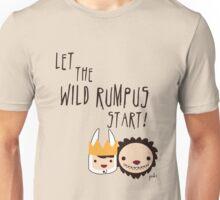 Let the WILD RUMPUS start! Unisex T-Shirt