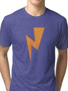 Lightning Bolt - Potter Style Tri-blend T-Shirt
