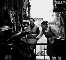 Street BBQ by Mojca Savicki