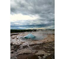 The breathing earth Photographic Print