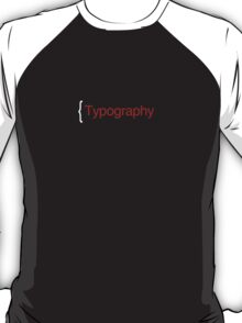 Typography T-Shirt