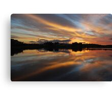 Tales of Sunset Canvas Print