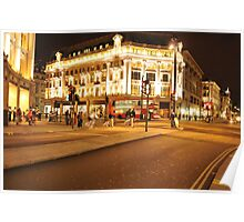London Riots Oxford Circus  Poster