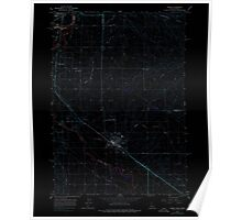 USGS Topo Map Idaho Parma 237565 1965 24000 Inverted Poster