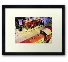 The North pole Framed Print