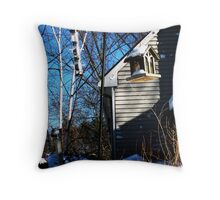 Home for the Birds Throw Pillow