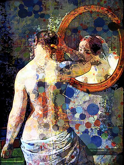 MORNING MEETING WITH MIRROR by Tammera