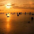 Sunrise on the Delaware Bay by Michael Mill