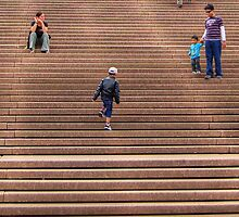 Opera House Stairs by Eve Parry