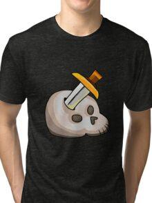 Runescape - Slayer Icon Tri-blend T-Shirt