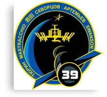 Expedition 39 Mission Patch Canvas Print