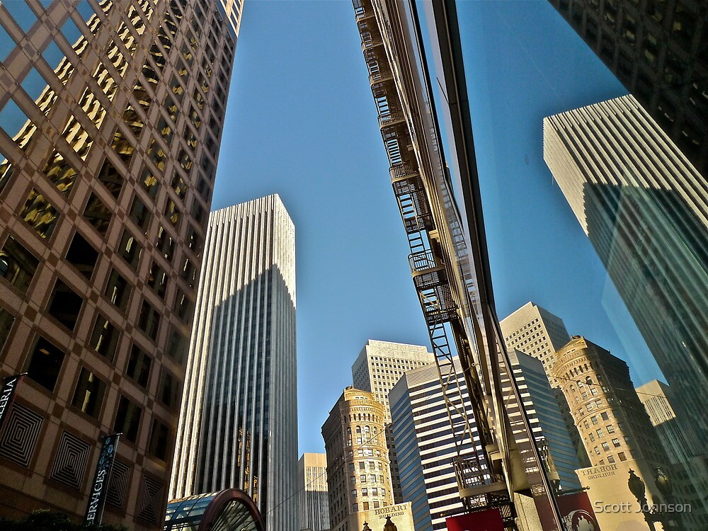 Reflected San Francisco Architecture by Scott Johnson