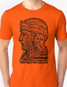 Sivartha Historia Mind Map 1860 Unisex T-Shirt