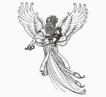Djinn Angel - Vathek 1928 by Hedrin