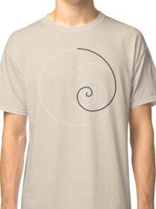 Golden Ratio Spiral - Construction Circles Classic T-Shirt