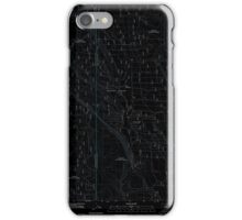 USGS Topo Map Oregon Location Butte 20110818 TM Inverted iPhone Case/Skin