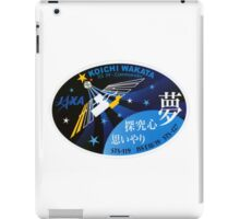 Expedition 39 - Wakata Commander Patch iPad Case/Skin