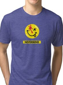 Nevermind the Watchmen Tri-blend T-Shirt